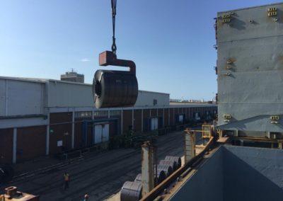 Cargo Loading - Steel Coils 1