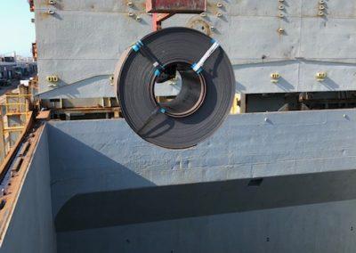 Cargo Loading - Steel Coils 2